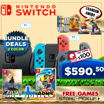 New Nintendo Switch Games Deals for only S$729 instead of S$0