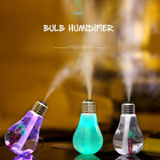 New Mini Bulb Design USB Aromatherapy Air Humidifier 7 Colors LED Light Essential Oil Aroma Diffuser Home Office Mist Maker