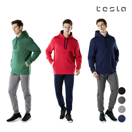 ★TESLA★ Hoodie Zip up + Jogger Pants + Windproof Pants Thermal Fleece Pants