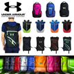 Free shipping! UNDER ARMOUR Waterproof Drawstring Bag/ sport waist pouch/ premium quality Unisex Sports bags/ sport Backpack/ Travel Bag/ Shoe Bag/ Shoulder Bag/ Soccer bag/ Basketball Bags