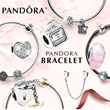 [PANDORA]♥New stock Update♥ Pandora Bracelets / Charm Series/ Silver Charm Bracelet/ Jewelry/ Fashion Accessories/ Customize your own design/ from USA[Free Shipping]