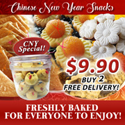 CNY Chinese New Year Snacks / Goodies / Wide Variety