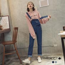 TOKICHOI - Cute Sling Jeans-182478-Winter