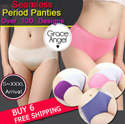 [NEW UPDATE]S~XXXL Ladies Non-Leak Period Panties Plus Size Seamless Panties Underwear Safety Pants High Quality