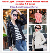 [Ultra Light n Compact] Down Winter Jacket Coat [ship out within 24 hrs]