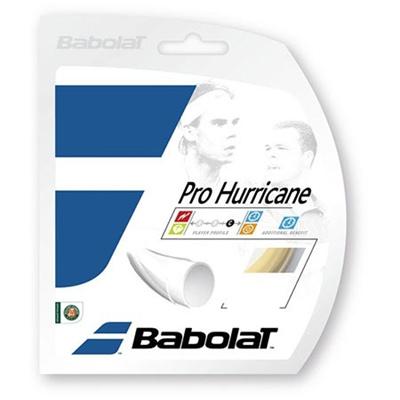 バボラ(Babolat) プロハリケーン 120/125/130/135 BA241104 730 ナチュラル 【テニス ガット ストリング 硬式】の画像