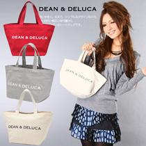 バッグ キャンバストートバッグ bag エコーバッグ ディーン&デルーカ トートバッグ ディーンアンドデルーカ DEANDELUCA  帆布トートバッグ