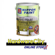 Nippon Paint Odour-less Anti-Mould Ceiling White 5L