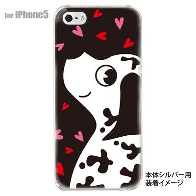 【iPhone5S】【iPhone5】【Clear Arts】【iPhone5ケース】【カバー】【スマホケース】【クリアケース】【アニマル】【犬】 10-ip5-animal-02の画像