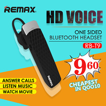 ▶Remax /Wireless Bluetooth Earphone/Sports Earphone/Answer Call /Listen Music/Watch Movie/only Need to Reply Yes or No to Answer /Reject Calls Headphone for Iphone Smsung Xiaomi Htc Acer Etc