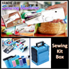Cordless Handheld Electric Portable Sewing Machine/Portable sewing machine Sewing Kit Box Compact Box Needle