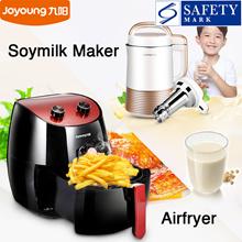 Joyoung Soymilk Maker / Air Fryer / Soy Milk Maker / AirFryer / Soy Bean / Multifunction / Soybean / Porridge / New Model / Less Oil / Frying Basket / Housewarming / Gift