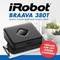 iRobot Braava 380t LOCAL WARRANTY FREE DELIVERY PLUG  PLAY