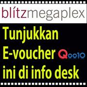 [Superday Event] 38% OFF blitzmegaplex Movie Ticket!