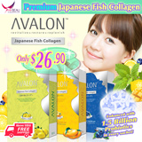 [Free Gift worth $22! UP $58.90!] Proven Effective ❤ SG NO.1 Collagen ❤ AVALON™ Japanese Fish Collagen 3 Flavours with Antioxidants ❤ 100% Pure Premium Collagen ❤ Anti Aging