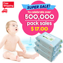 ◆51th RESTOCK◆To celebrate over 500000pack sales/NO.1 Wet Wipes/Manufactured on AUG.18.2016/JEJU island wet tissue/Baby wet wipes / Thick wet wipes / Weight 50g / Safe for baby / High quality