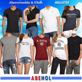 Abercrombie/Hollister Man/Woman Short Sleeve/T-shirts/Polo/Crew/V-neck