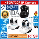 Authentic Vstarcam IP Camera CCTV | SD Card Slot☆Pan/Tilt☆720P HD | Night Vision | Wireless | IDA Approved | Safety Mark Adapter | Free Android/iOS app etc | Monitor Baby/Child/Maid/Elderly