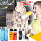 [BUY 2 FREE SHIPPING]2015 New Product!MY BOTTLE Water BOTTLE/ Fashion lovely Cartoon Water Bottle/Lemon Cup/Portable Water Bottle/Todays Special My Bottle/[BUY 2 FREE SHIPPING]