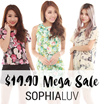 SOPHIALUV $19.90 MEGA SALES