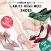 Updated! Over 200 styles Ladies High Heel Shoes ♡ Big size 40-43 heels ♥ Fashion Wedding Shoes ★ Women Shoes