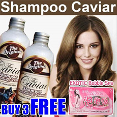 The Caviar Shampoo *Make your Hair STRONGER n LONGER* Shampo Pemanjang Pelebat Rambut/ famous in Aussie/ Faster Growing/ Sampo Kuda/ mane n tail
