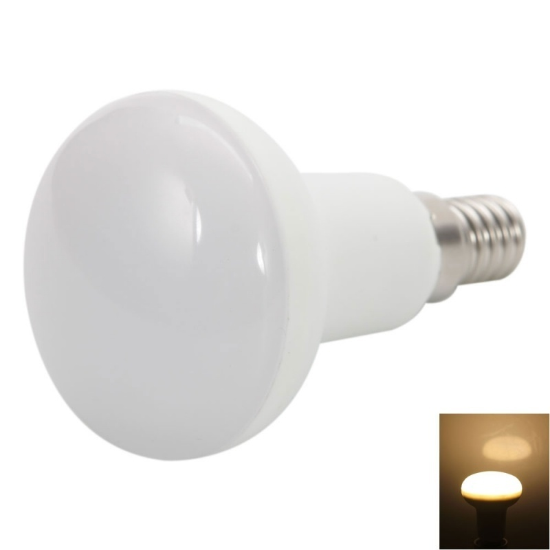 【クリックで詳細表示】R50 E14 6W 650LM Warm White LED Light Bulb (100-240V)