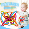 ★★Childrens Day GIFT ★★ BRAND Toys Gutta pertscha Toy Winkel Rattle and Sensory Teether Activity Toy