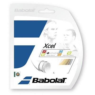 バボラ(Babolat) エクセル125/130/135 BA241110 730 ナチュラル 【テニス ガット ストリング 硬式】の画像