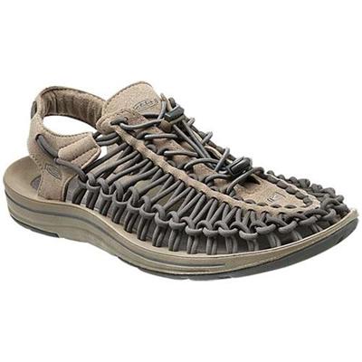 ◆即納◆キーン(KEEN) MEN UNEEK メンズ ユニーク Brindle/Magnet 1013087 【おしゃれ サンダル シューズ 靴 グレー】【SNDL15】の画像