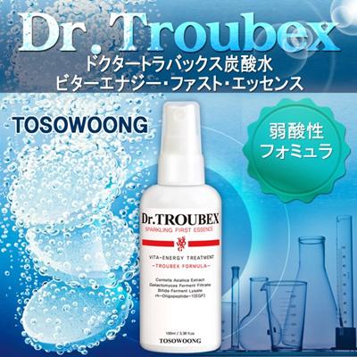 [TOSOWOONG]ドクタートラバックス炭酸水ビターエナジー・ファスト・エッセンス/肌のことでお悩みなら、注目!/弱酸性/特許成分/肌悩み解決ニキビ肌/毛穴/ 弾力/皮脂/ニキビ跡1位/ニキビの鎮静韓国コスメの画像