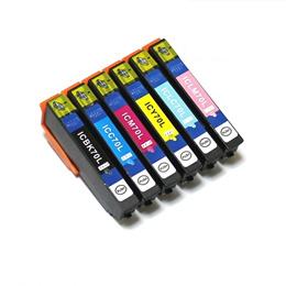 高品質EPSON IC6CL70互換インク 単品 色組合せ自由