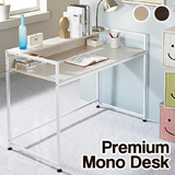 [New Arrival]Premium Mono Desk/Computer desk/Furniture/Table/Steel Frame/Christmas Gift Item