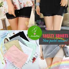 Lovely Pastel Safety Shorts ♥ Basic Underpants Pants.Tights. Lacy Pastel Sports Yoga Maternity