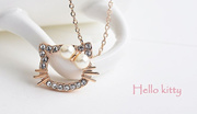 Hello Kitty Necklace ★Premium Quality 18K Gold Plated★Jewellery Jewelry Jewel Fashion Accessories