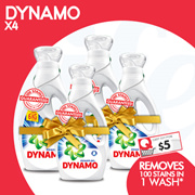 [PnG] FREE DELIVERY! USE YOUR COUPON NOW!  DYNAMO Carton Sale - Mix N Match 4 Bottles FOR $25
