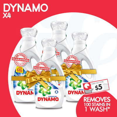 [PnG] FREE DELIVERY! USE YOUR COUPON NOW! DYNAMO Carton Sale Deals for only S$61.3 instead of S$0