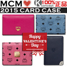 Kconcept◆Valentines day special◆Shopping Bag◆MCM Authentic 2015 NEW◆ Card Case/ ID case