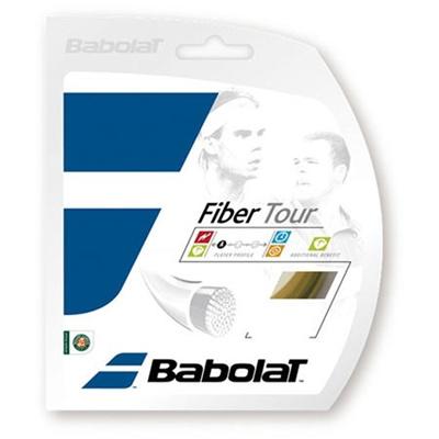 バボラ(Babolat) ファイバーツアー 130 BA241112 003 ホワイト 130 【テニス ガット ストリング 硬式】の画像