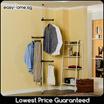 Standing Pole Single Rod 3201 / Clothes Rack / Drying Rack/ Space Saving Storage Shelf