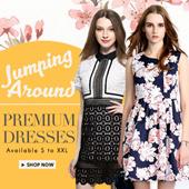 Premium Quality Dress ~ Fully lined ~ Var