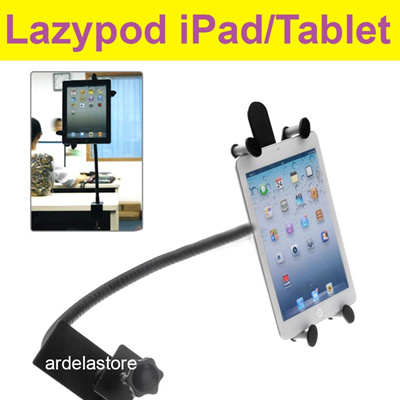 Lazypod for iPad Tablet BAHAN BESI Holder Maximal 10 lazy pod lazypad jepitan narsis / jepsis