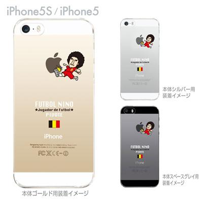 【ベルギー】【FUTBOL NINO】【iPhone5S】【iPhone5】【サッカー】【iPhone5ケース】【カバー】【スマホケース】【クリアケース】 10-ip5s-fca-gb03の画像