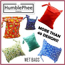 Wet bag Wetbag Gym Swimming waterproof Diaper Bag SG Seller Ready Stock Double Zipper Design