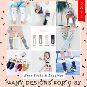 ❤ 16/6 NEW❤ 0-10Y Authentic Bebezoo Korean Fashion Kids Socks / Baby Leggings / Kids Leggings
