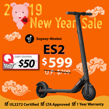 🍊CNY SALE🍊UL2272 LTA Approved ✅ Segway ES2 Escooter ★ Official Distro Service Centre ★