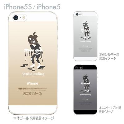 【iPhone5S】【iPhone5】【MOVIE PARODY】【iPhone5ケース】【カバー】【スマホケース】【クリアケース】【ユニーク】【ゾンビ】 10-ip5-ca0035の画像