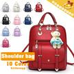 ◆Korean Style PU Leather Multi-way Bag◆Tote Bag/ Hand Bag/ Shouder Bag/ Backpack/ Daly Bag/ School Bag/ Travel Bag/ Rucksack-many colors