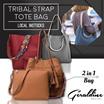 [In-Stock] Best Selling 2016 Latest Trendy Tribal Strap Tote Bag Tribal Tassel Tote Best Selling