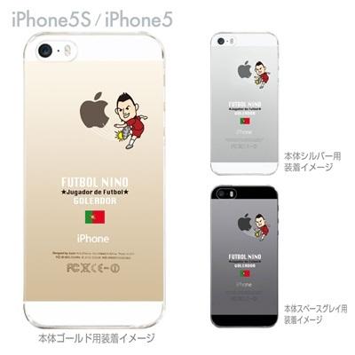 【ポルトガル】【iPhone5S】【iPhone5】【サッカー】【iPhone5ケース】【カバー】【スマホケース】【クリアケース】 10-ip5s-fca-pg01の画像
